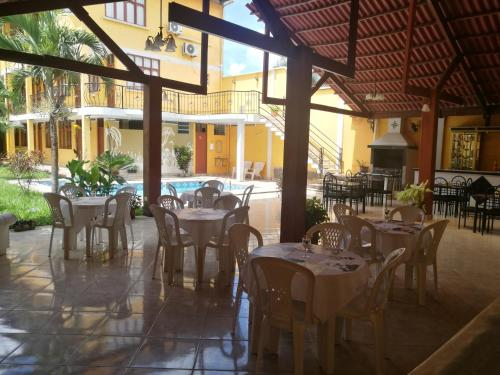 A restaurant or other place to eat at Dorado Hotel