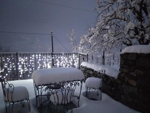 B&B Ca' La Vedescia durante l'inverno