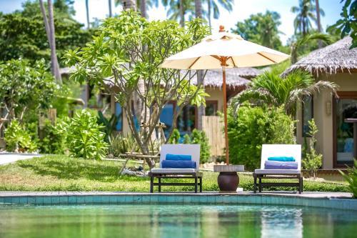 Swimmingpoolen hos eller tæt på Sea Dance Resort