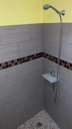 A bathroom at La Vallee