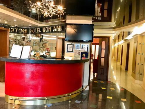 Лобби или стойка регистрации в Отель Бон Ами