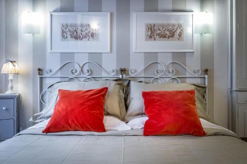 Cama o camas de una habitación en Galileo in Florence