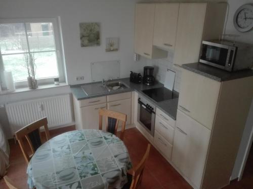 Küche/Küchenzeile in der Unterkunft Im Land der Horizonte