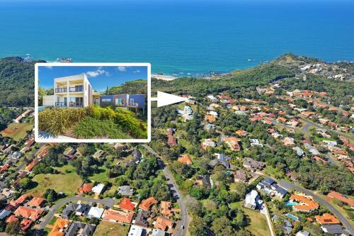 A bird's-eye view of Kilala - executive home