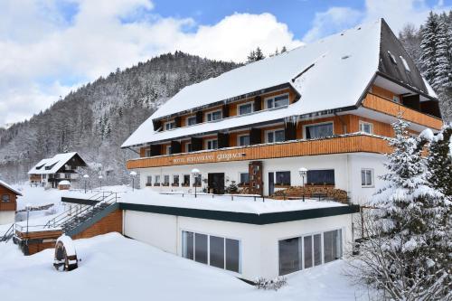 Hotel Großbach in de winter