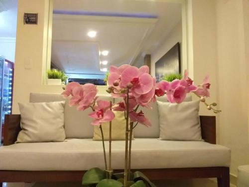 Zona de estar de Hotel San Miguel Imperial