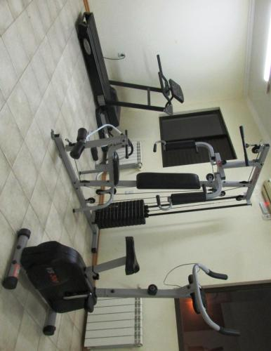 The fitness center and/or fitness facilities at Icaropê Hotel