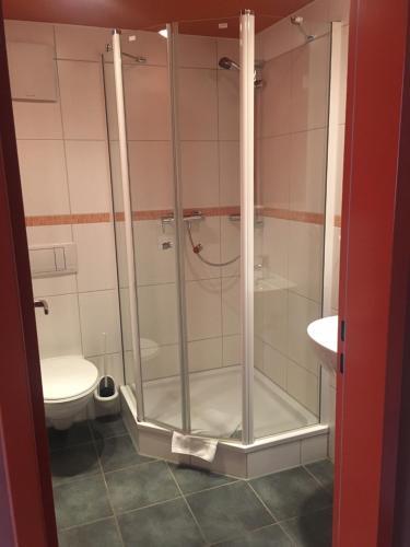 Ein Badezimmer in der Unterkunft Augustinerkloster Gotha