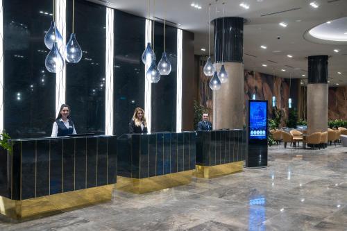 Лобби или стойка регистрации в Radisson Blu Hotel, Vadistanbul