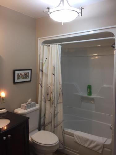 A bathroom at Sir Isaac Brock B&B Luxury Suites