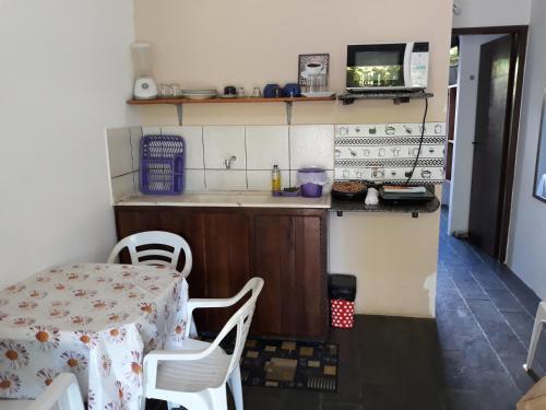 A kitchen or kitchenette at Solaris do Atlantico