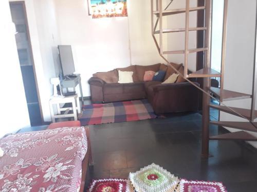 Zona de estar de Casa da Lapa