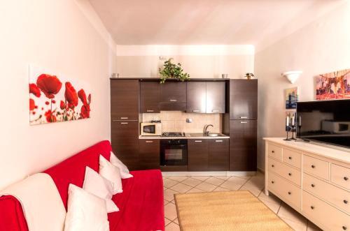 Cucina o angolo cottura di A Casa di Lavinia