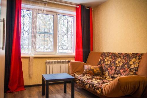 Гостиная зона в Апартаменты Городской Вал 14