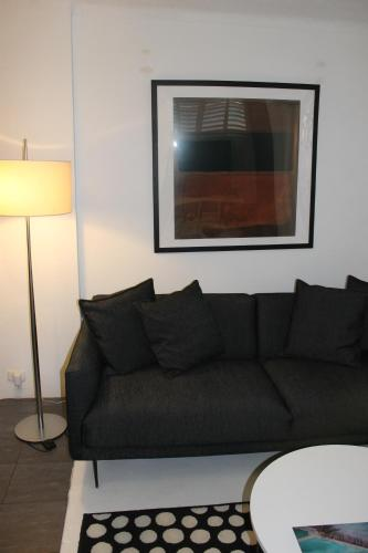 A seating area at Great Studio Apartment - in the heart of everything