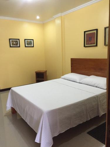 Кровать или кровати в номере Golden Pension House,Palawan