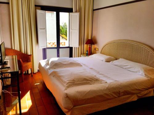 Cama o camas de una habitación en Cèsar