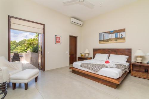 Mount Havana Luxury Boutique Villaにあるベッド