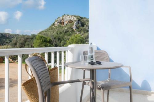 A balcony or terrace at Paradis Blau Boutique Hotel