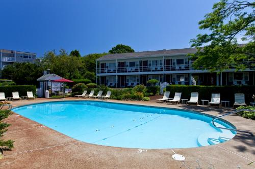 The swimming pool at or near The Seaglass Inn & Spa