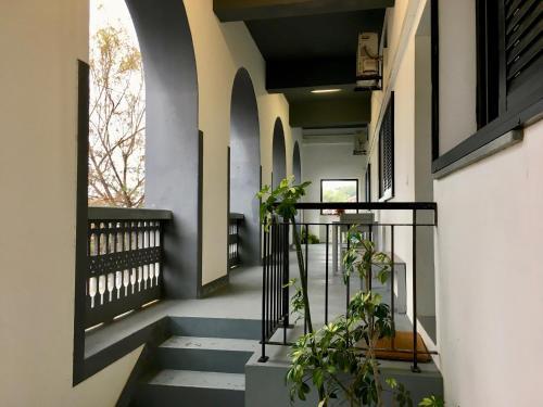 A balcony or terrace at Sea Breeze Studios