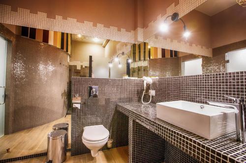 Ванная комната в Villa Da Vinci