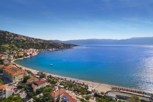 A bird's-eye view of Valamar Atrium Baška Residence
