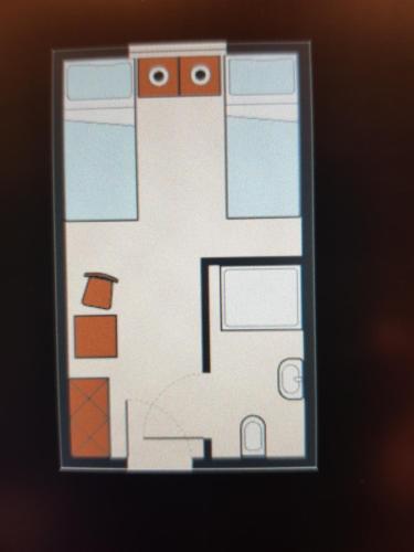 Grundriss der Unterkunft Hotel Nußknackerbaude