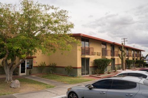 Edificio in cui si trova il motel
