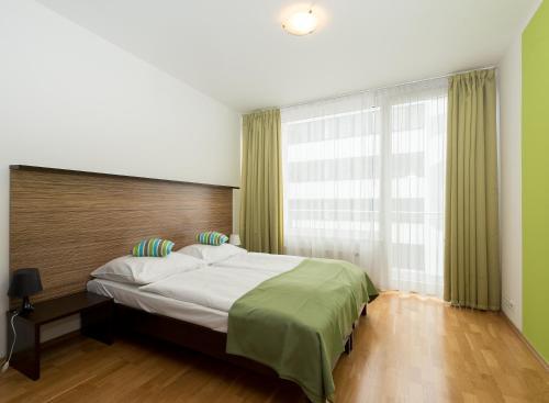 아파트호텔 앤젤 객실 침대