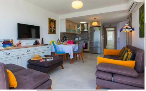 Area soggiorno di Bodrum Vista Suites