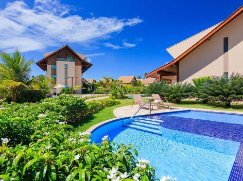 A piscina localizada em Condomínio Nui Supreme (BY MAI) ou nos arredores