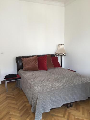 Postel nebo postele na pokoji v ubytování Apartman Vridelni 136 Karlovy Vary