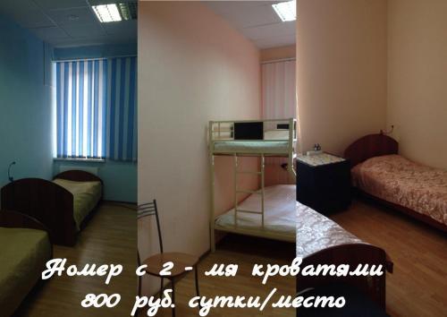 Телевизор и/или развлекательный центр в Хостел Сова