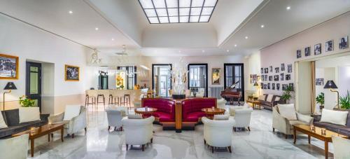 Salone o bar di Grand Hotel Salsomaggiore