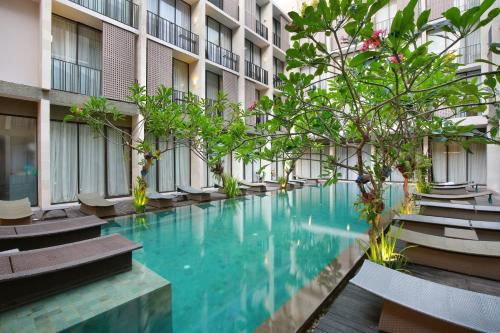 The swimming pool at or near Hotel Terrace at Kuta