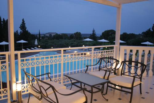 A view of the pool at Belvedere Gerakas Luxury Suites or nearby