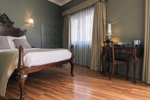 Cama o camas de una habitación en Hotel Sao Jose