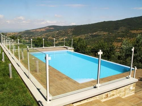 The swimming pool at or near Cortona Villa Sleeps 12 Pool Air Con WiFi