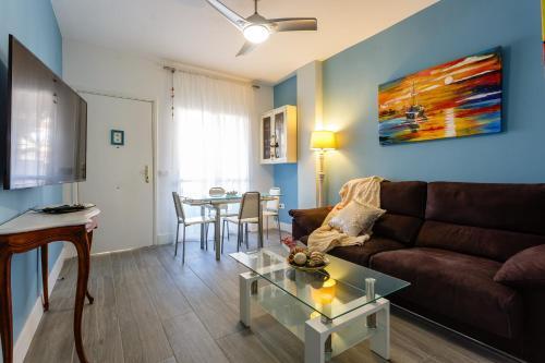 Zona de estar de Apartamento Mar de Cadiz