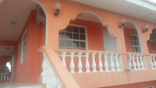 Uma varanda ou terraço em Classic Apartment