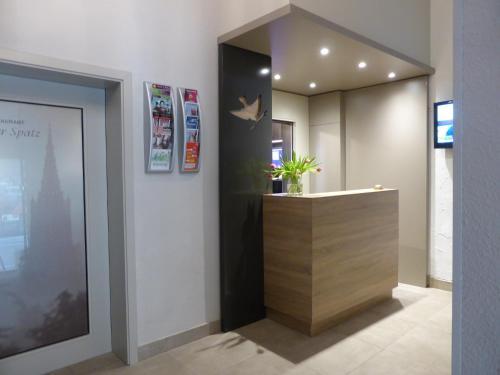 Lobby/Rezeption in der Unterkunft Hotel Ulmer Spatz