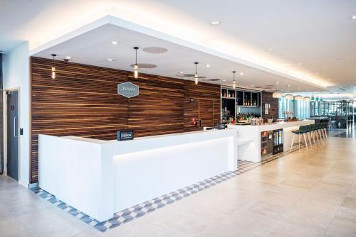 The lobby or reception area at Hampton By Hilton Stockton On Tees