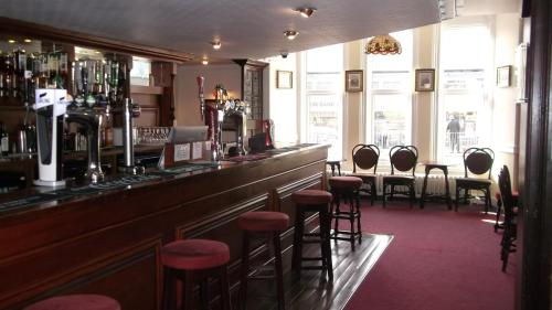 A restaurant or other place to eat at Patten Arms Hotel