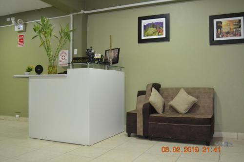 The lobby or reception area at LUNATENIS