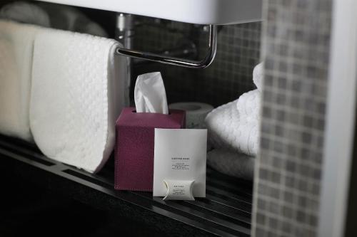 Ein Badezimmer in der Unterkunft Hotel Palazzo Grillo