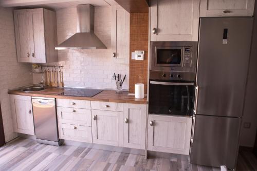 Una cocina o zona de cocina en La Casa de Felisin