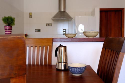 Una cocina o zona de cocina en La Posidonia