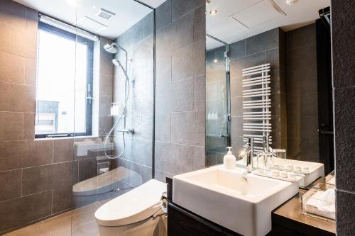 A bathroom at Haven Niseko
