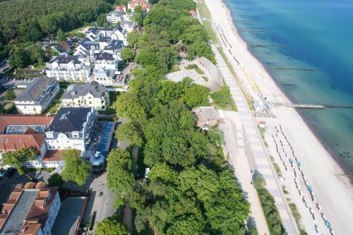 Blick auf Europa Hotel Kühlungsborn aus der Vogelperspektive